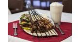kebab with ayran