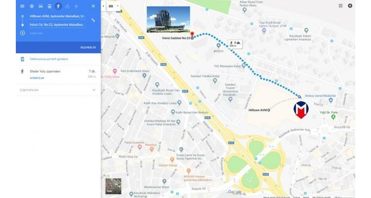 Elite World Asia-Hotel-harita