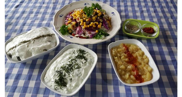 binkılıç-meze-salata