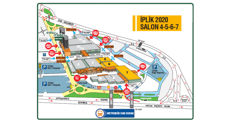 Istanbul Yarn Fair 2020-plan
