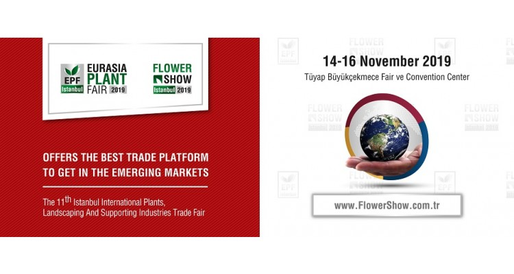 EPF - Flower Show İstanbul 2019-banner